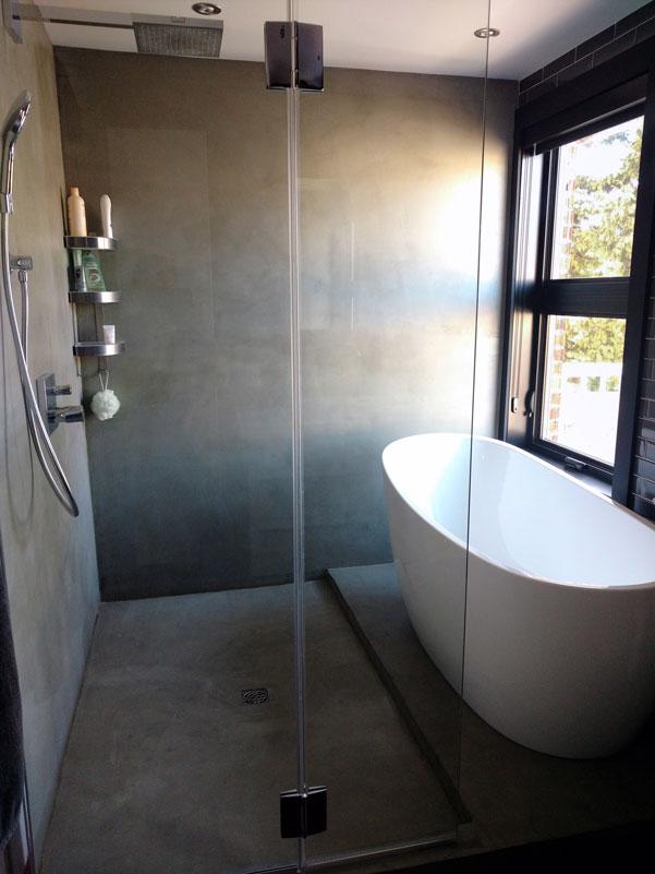 Salle de bain lasalle enduitd co for Ceramique salle de bain 2016